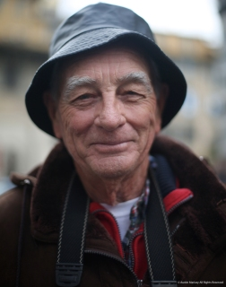 Rene visited Florence for 3 days from Miami, Florida. He is originally from Cuba but has lived in Miami for 50 years after his family fled from Fidel Castro.