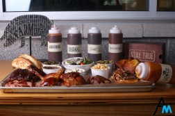 The Sampler Platter at City Barbecue in Fairlawn, Ohio. City Barbecue opened a new store in Beachwood, Ohio in December 2018.